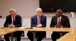 Pic 1 L-R Government Affairs & Policy Leader, GE Africa, Phillipe Dongier , President & CEO, GE Afri