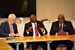 Pic 2 L-R President & CEO, GE Africa, Jay Ireland, Governor of Lagos State, H.E Akinwunmi Ambode and