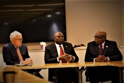 Pic 3 L-R President & CEO, GE Africa, Jay Ireland, Governor of Lagos State, H.E Akinwunmi Ambode and