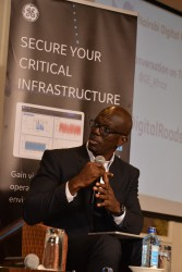 Abu Sulemana, Chief Information Officer GE SSA speaks on industry digitization during the GE East Af