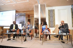 Hani Chohan, GE Chief Marketing Officer speaking during a panel discussion at the GE East Africa Dig